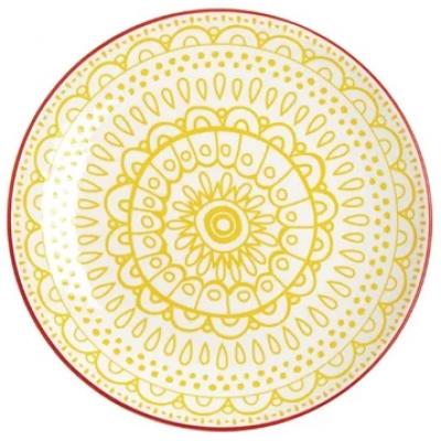 Olympia Fresca Plates Yellow 268mm