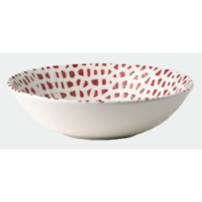 Dudson Mosaic Coral Chef's Bowl 26.5cm