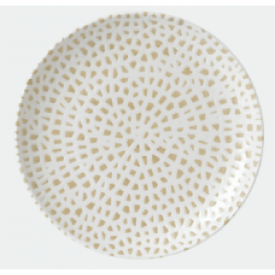 Dudson Mosaic Taupe Plate 26.5cm