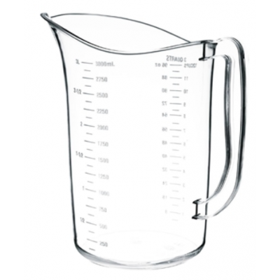 Vogue Polycarbonate Measuring Jug 3 Litre