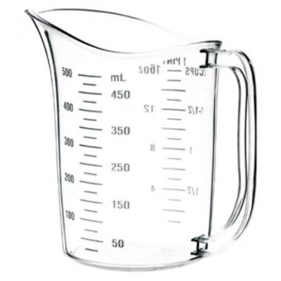 Vogue Polycarbonate Measuring Jug 500ml