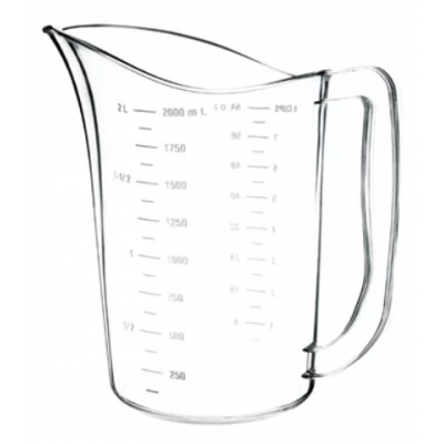 Vogue Polycarbonate Measuring Jug 2 Litre