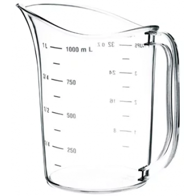 Vogue Polycarbonate Measuring Jug 1 Litre