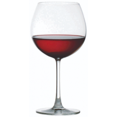Ocean Madison Burgundy Glass - 650ml