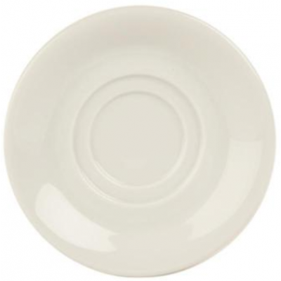Porcelite Standard Double Well Saucer 15cm