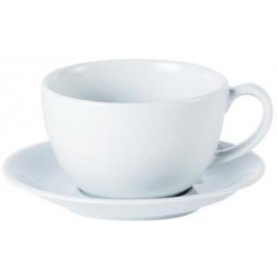Porcelite Standard Bowl Shaped Cup 12oz