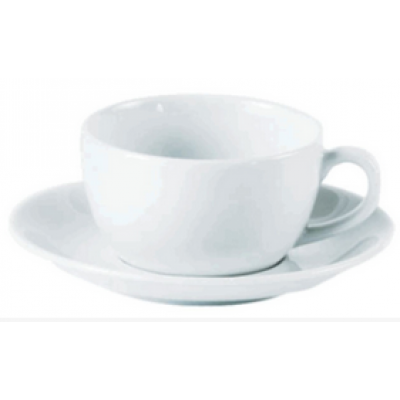 Porcelite Bowl Shaped Espresso Cup 3oz