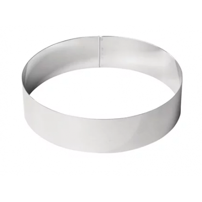 De Buyer Stainless Steel Mousse Ring - 240 x 60mm