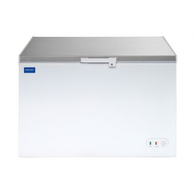 Arctica Chest Freezer White 358ltr with stainless steel lid