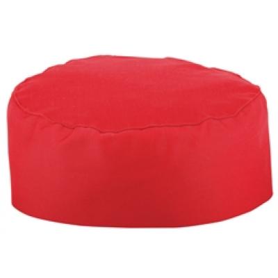 Red Chefs Skull Cap