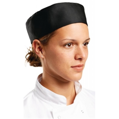 Black Chefs Skull Cap