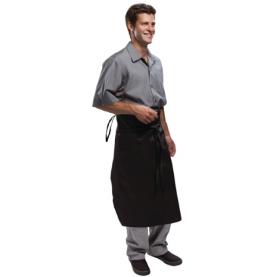 Executive Chefs Tapered Apron - Black
