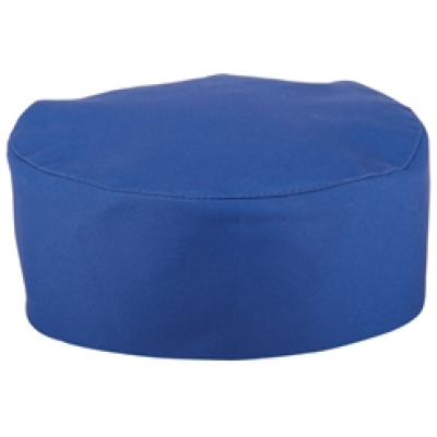 Royal Blue Chefs Skull Cap