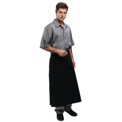 Long Four Way Waist Apron - Black