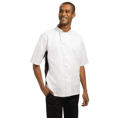 Nevada Black and White Chefs Jacket