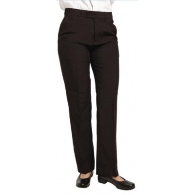 Ladies Black Waiting Trousers