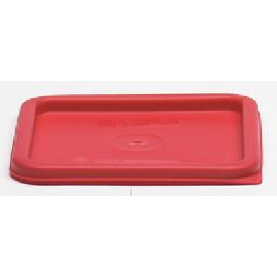 Cambro Red Square Lid