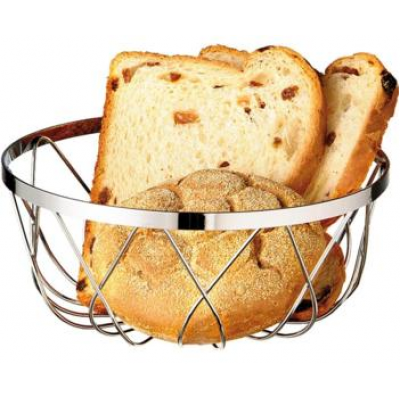 Chrome Plated Bread Basket
