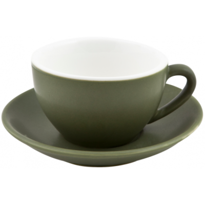 Bevande Large Cappuccino Cup 280ml Sage