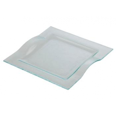 Square Platters with Handles - 24.5cm