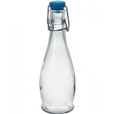 Bottle 335 Blue Lid