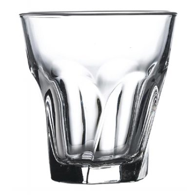 Gibraltar Twist Rocks Glasses - 210ml