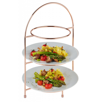 Copper 3 Tier Cake Stand