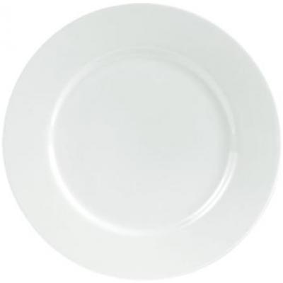 Porcelite Connoisseur Rimmed Plate - 20.3cm