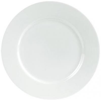 Porcelite Connoisseur Rimmed Plate - 15.2cm