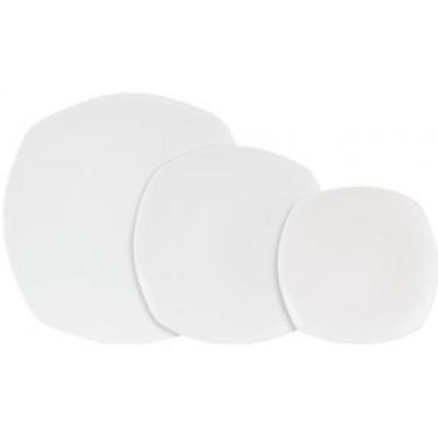 Porcelite Connoisseur Square Plate - 17.5cm