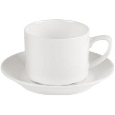Porcelite Connoisseur Tea Saucer - 5.25''