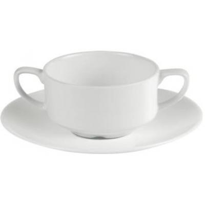 Porcelite Connoisseur Saucer - 6½''