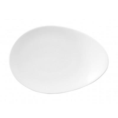 Dudson Geometrix Tear Drop Plate 36.5cm
