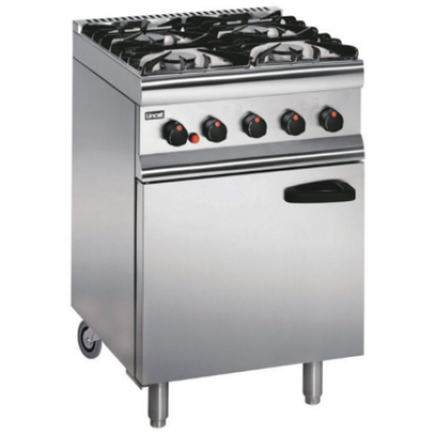 SLR6C/N Lincat Natural Gas Oven - Castors at Rear
