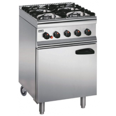 SLR6C/P Lincat Propane Gas Oven - Castors at Rear