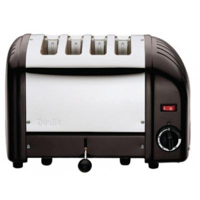 40344 Dualit 4 Slot Bread Toaster - Black