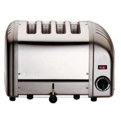 40348 Dualit 4 Slot Bread Toaster - Charcoal