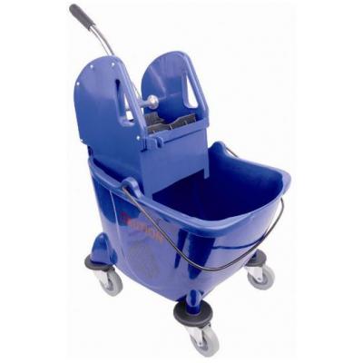 Kentucky Mop Bucket & Wringer Unit 24 Ltr Blue