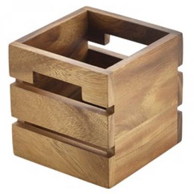 Wooden Buffet Display Crate 12 x 12cm