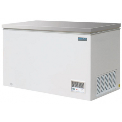 Polar CM530 Chest Freezer with Stainless Steel Lid 385Ltr