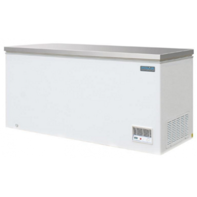 Polar CM531 Chest Freezer with Stainless Steel Lid 516Ltr