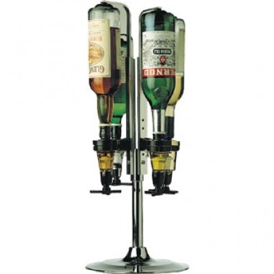 Rotary 4 Bottle Stand