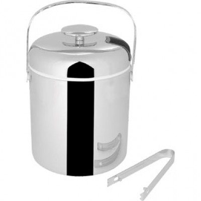 Ice Pail With Tongs
