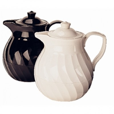 Insulated Tea Pot - White