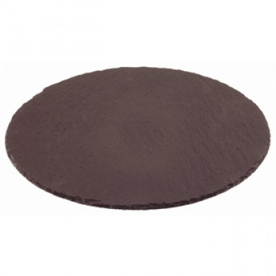 Natural Slate Tray  - Round