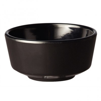 APS Float Black Round Bowl