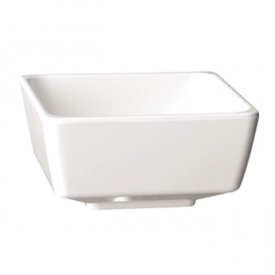 APS Float White Square Bowl