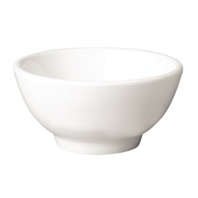 APS Pure Melamine White Round Bowl