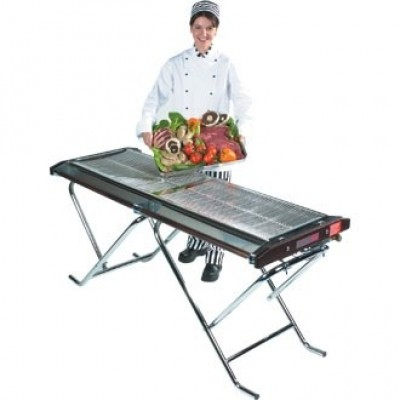 Cinders Propane Gas Barbecue - Caterer Slimfold TG160