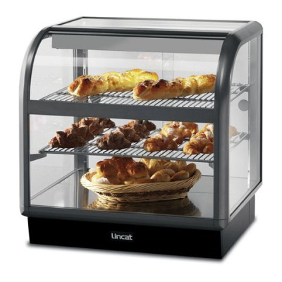 Lincat C6A/75B Curved Front Ambient Temperature Merchandiser - Self Service
